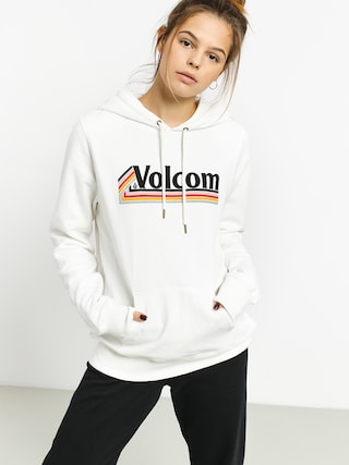 Bluza z kapturem Volcom Vol Stone HD Wmn (star white)