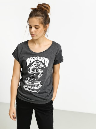 T-shirt Volcom Radical Daze Wmn (charcoal heather)