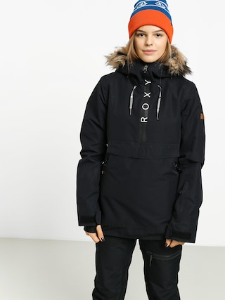Kurtka snowboardowa Roxy Shelter Wmn (true black)