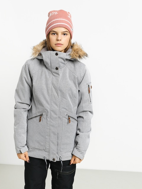 Kurtka snowboardowa Roxy Meade Wmn (heather grey)