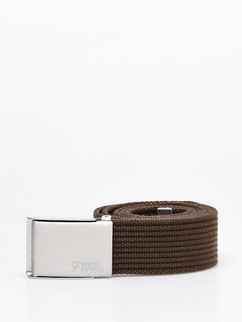 Pasek Fjallraven Canvas Belt (dark olive)
