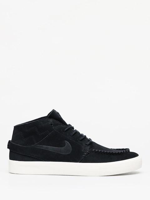 Buty Nike SB Zoom Janoski Mid Crafted (black/black pale ivory)