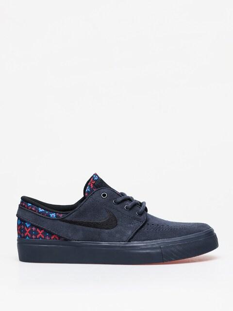 Buty Nike SB Stefan Janoski Suede Premium (dark obsidian/black dark obsidian)
