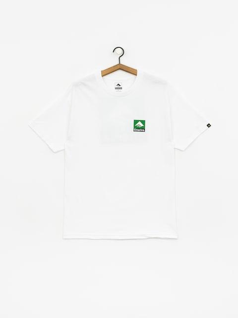 T-shirt Emerica Classic Back Print (white)