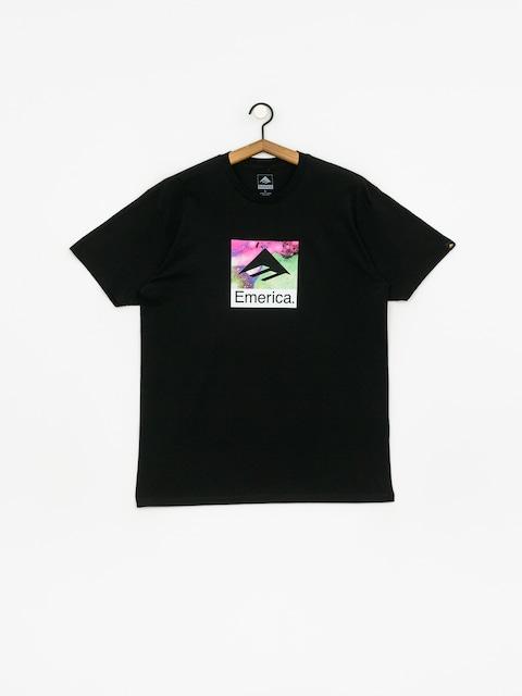 T-shirt Emerica Black Acid Drop