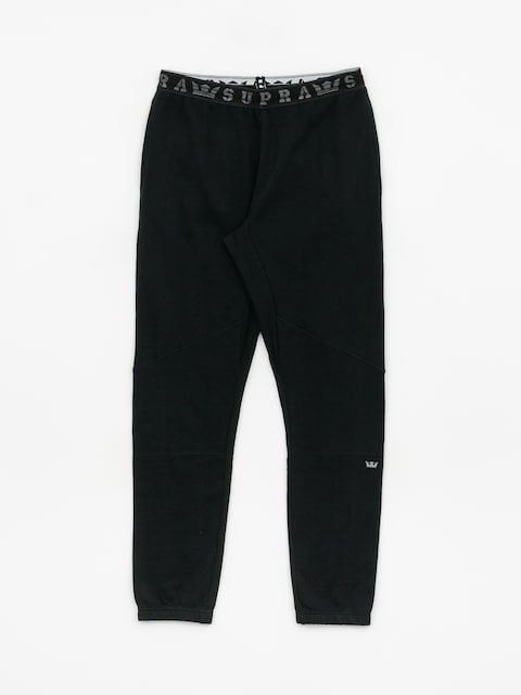 Spodnie Supra 92 Fleece (black)
