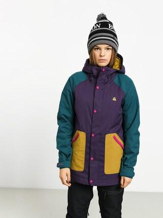 Kurtka snowboardowa Burton Eastfall Wmn (velvet/dpteal/evilo)