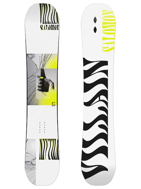 Deska snowboardowa Salomon The Villain (white/black)