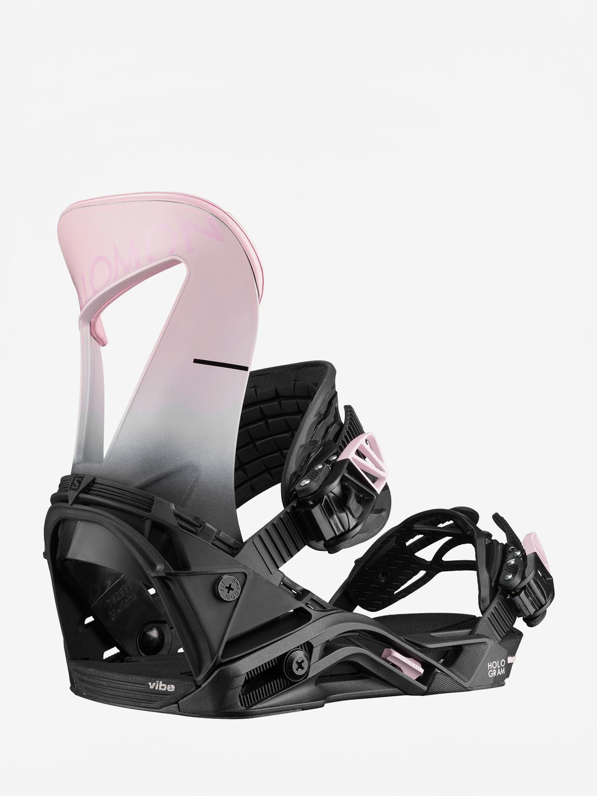 Damskie Wiązania snowboardowe Salomon Hologram (blackpink)