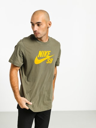 T-shirt Nike SB Sb Dri Fit (medium olive/dark sulfur)