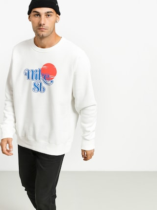 Bluza Nike SB Icon Crew Sunrise (sail/pacific blue)