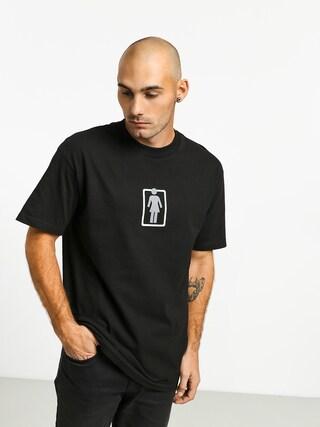 T-shirt Girl Skateboard Outside Og (black)