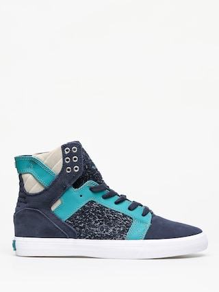 Buty Supra Skytop (navy/teal white)