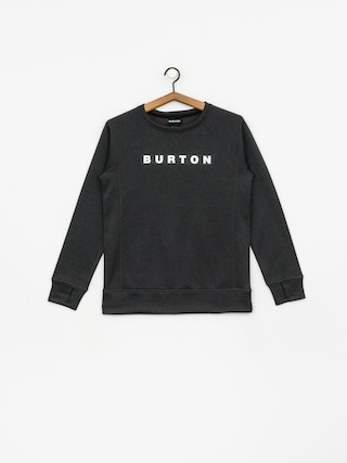 Bluza Burton Oak Crew Wmn (true black heather)
