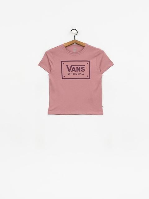 T-shirt Vans Boom Boom Unity Wmn (nostalgia rose)