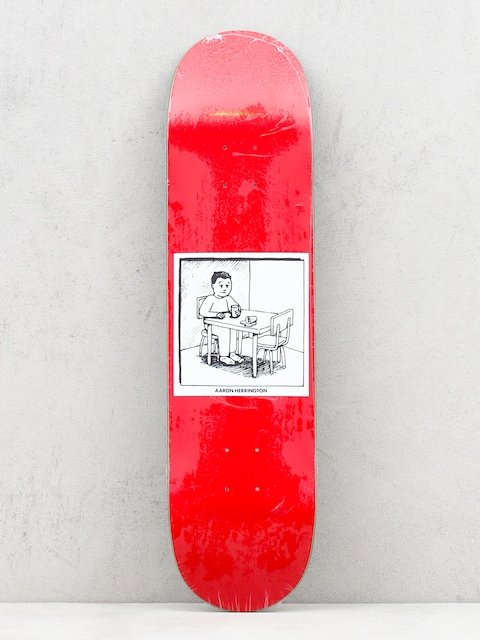 Deck Polar Skate Spilled Milk (red)