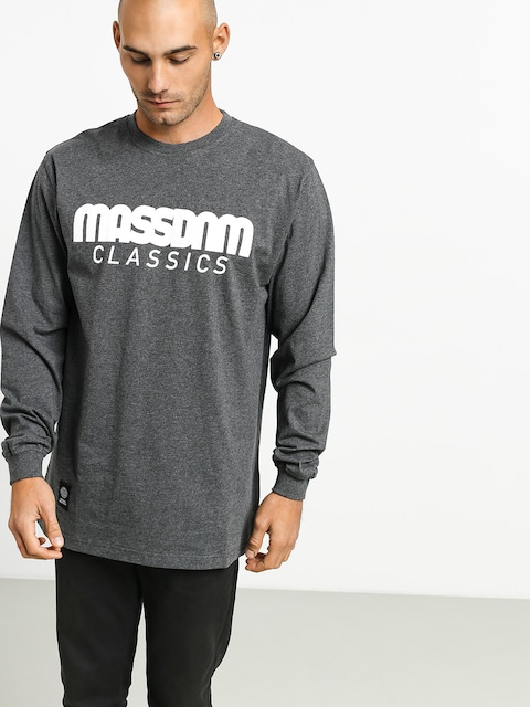 Longsleeve MassDnm Classics (dark heather grey)