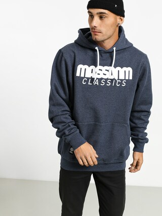 Bluza z kapturem MassDnm Classics HD (heather navy)