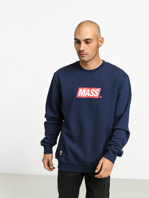 Bluza MassDnm Big Box Medium Logo (navy)
