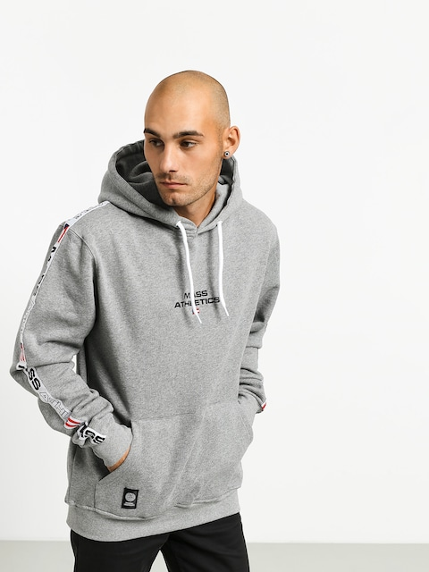 Bluza z kapturem MassDnm Track HD (light heather grey)