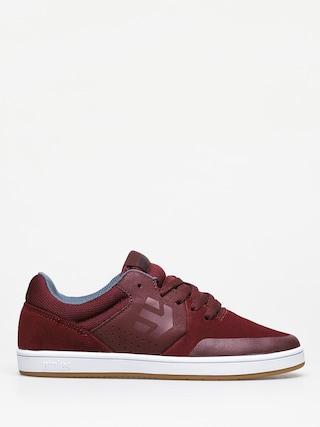 Buty dziecięce Etnies Marana (burgundy)