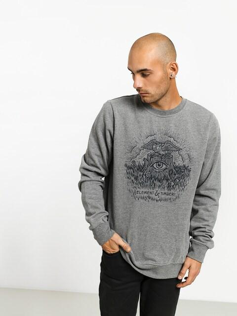 Bluza Element Too Late Stump Cr (grey heather)
