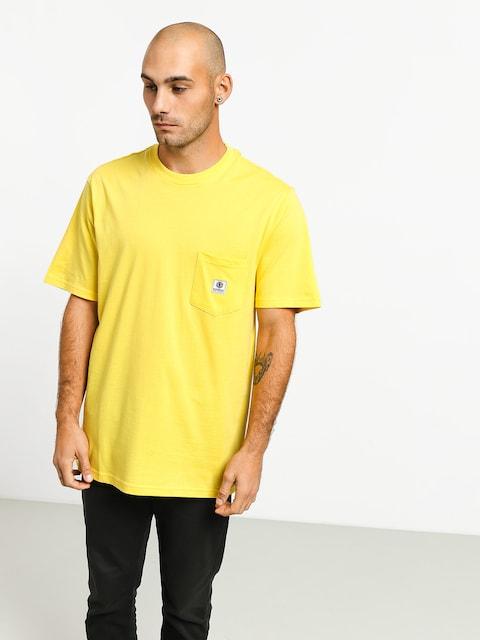 T-shirt Element Basic Pocket Label (aspen gold)