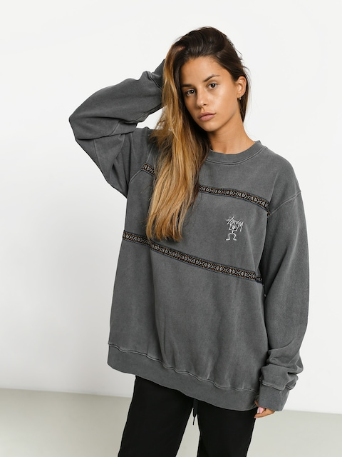 Bluza Stussy Pacific Webbing Terry Wmn (charcoal)