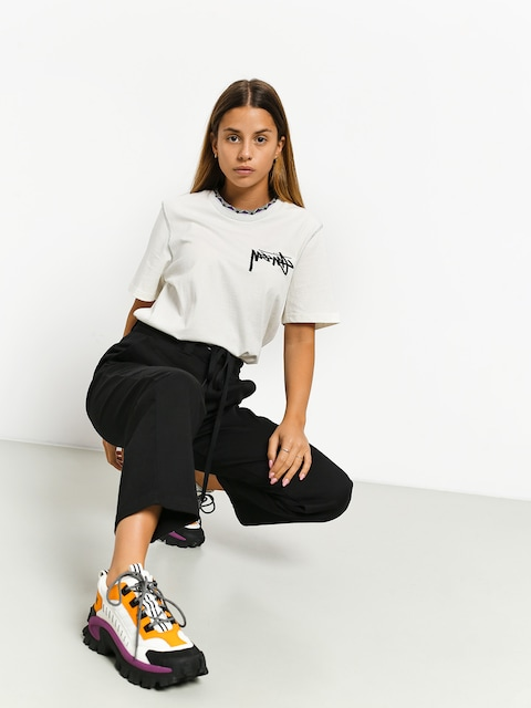T-shirt Stussy Clarita Inside Out Wmn (off white)