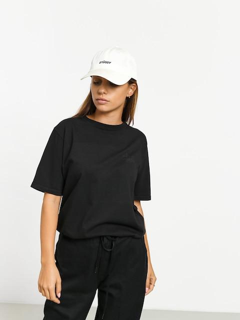 T-shirt Stussy Basic Logo Pig Dyed Wmn (black)