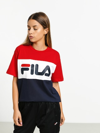 T-shirt Fila Allison Wmn (black iris/bright white/true red)