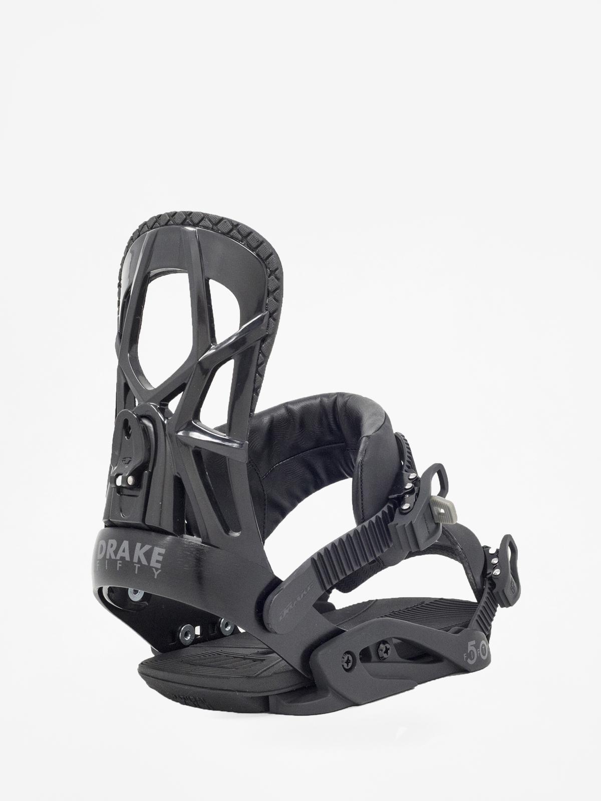 Wiu0105zania snowboardowe Drake Fifty (black)