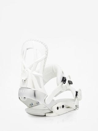 Wiązania snowboardowe Drake Fifty (white)