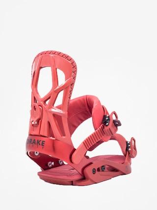 Wiązania snowboardowe Drake Fifty (bloody red)