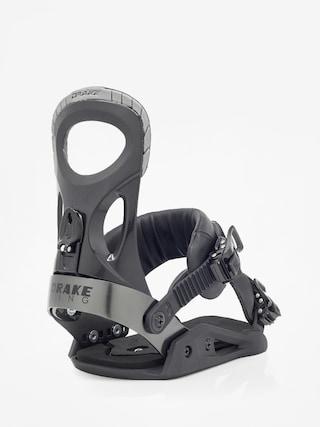 Wiązania snowboardowe Drake King (black)