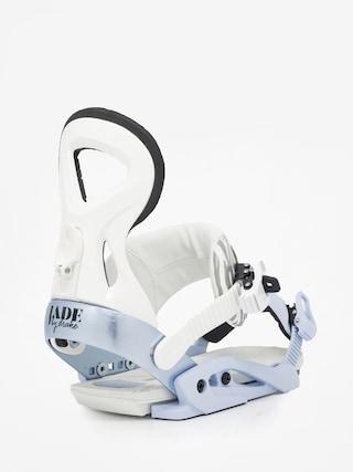 Wiązania snowboardowe Drake Jade Wmn (white/blue)