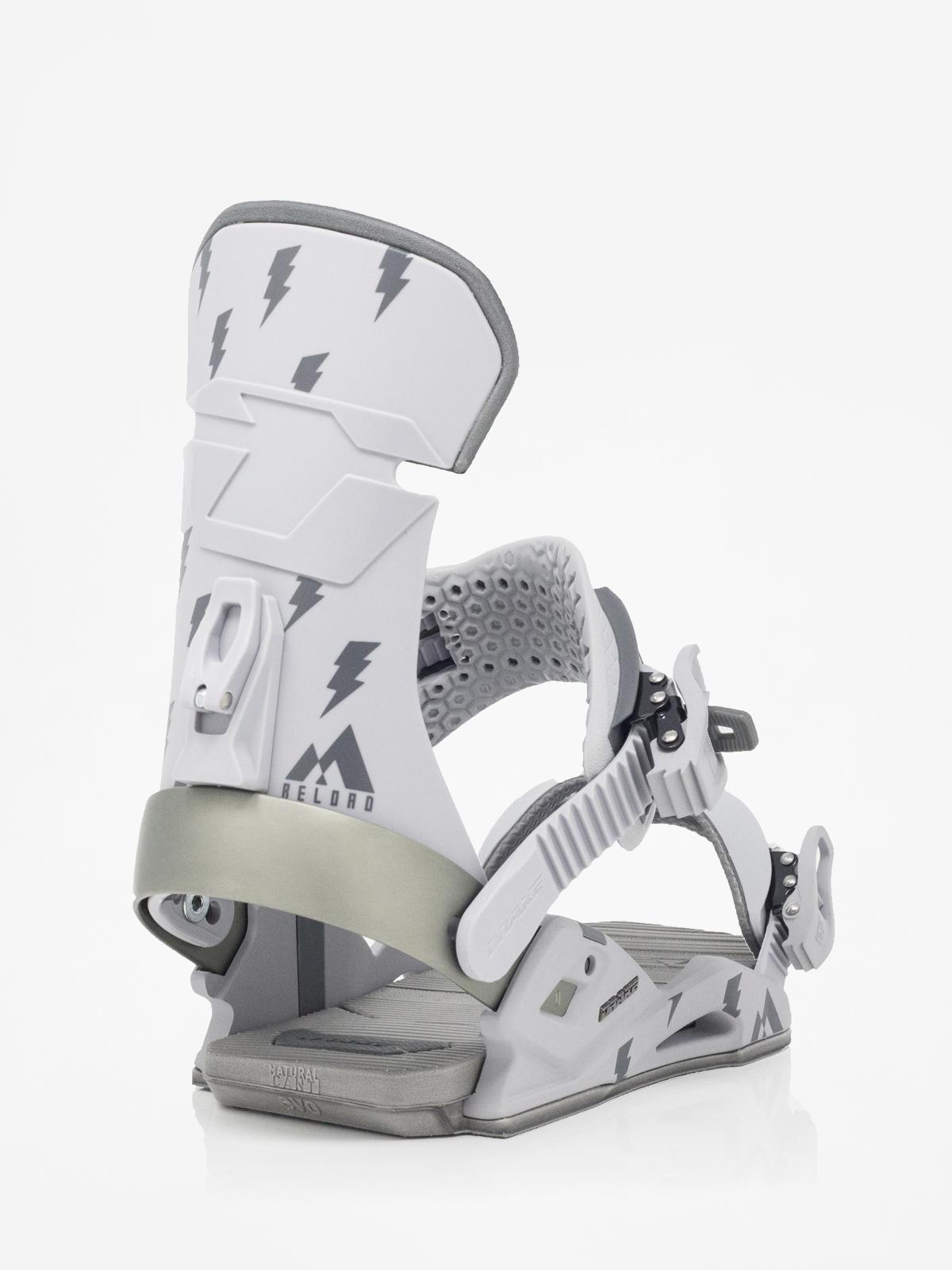 Wiązania snowboardowe Drake Reload (grey)
