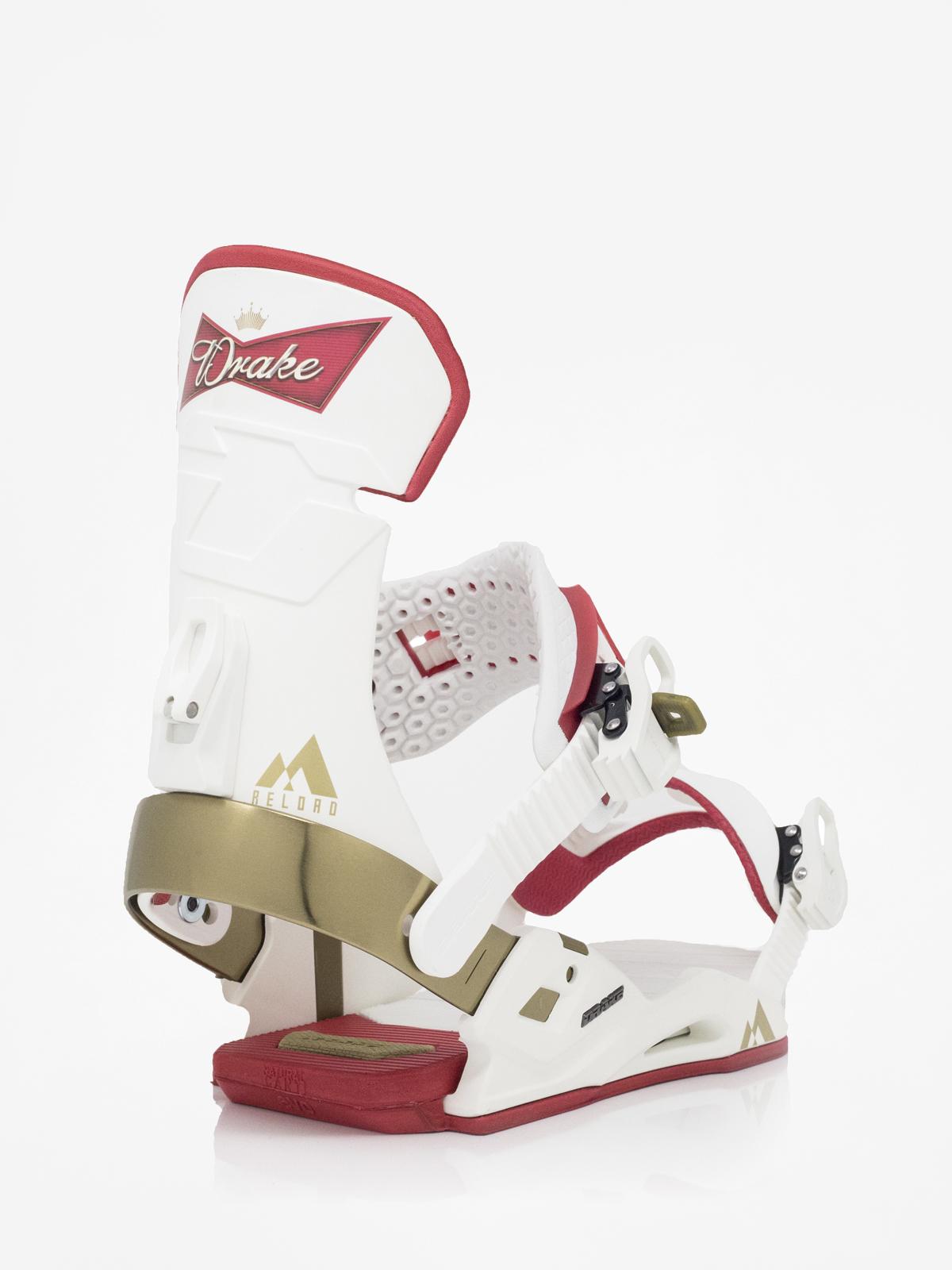 Wiązania snowboardowe Drake Reload (white beer)