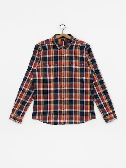 Koszula Etnies Ruskin Flannel (brown/navy)