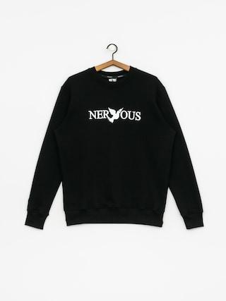 Bluza Nervous Classic Crew (black/white)