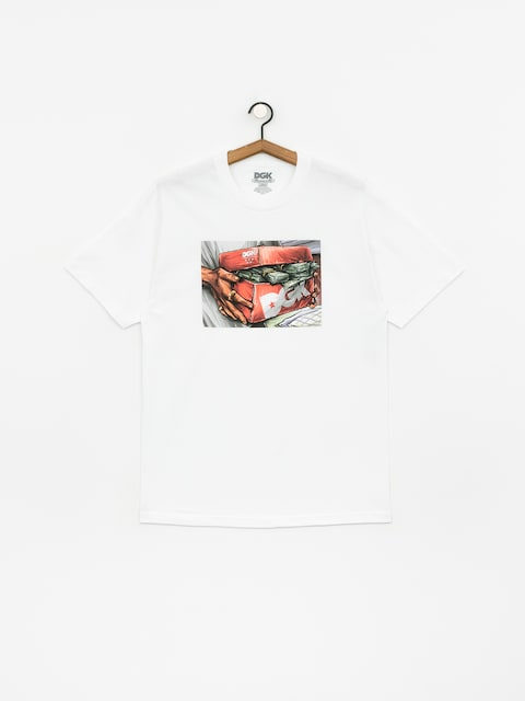 T-shirt DGK Loaded (white)