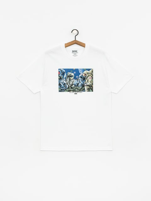 T-shirt DGK Space Games (white)