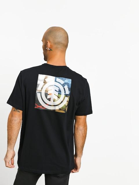 T-shirt Element Quadrant Seasons (flint black)