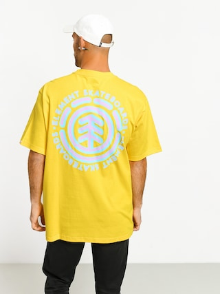 T-shirt Element Chrome (bright yellow)