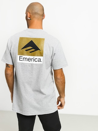 T-shirt Emerica Classic Back Print (grey/heather)