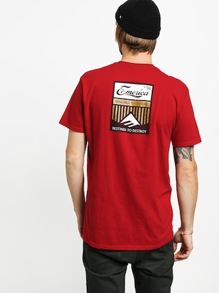 T-shirt Emerica No 96 (cardinal)