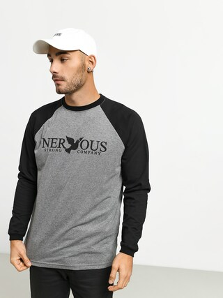 Longsleeve Nervous Classic (grey/black)
