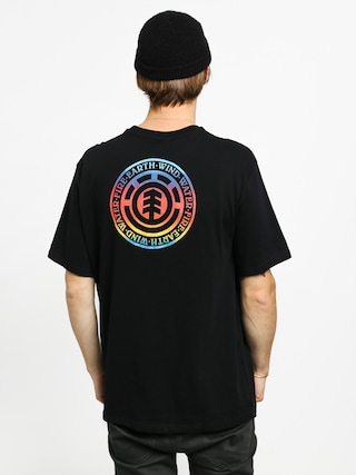 T-shirt Element Seal Gradient (flint black)