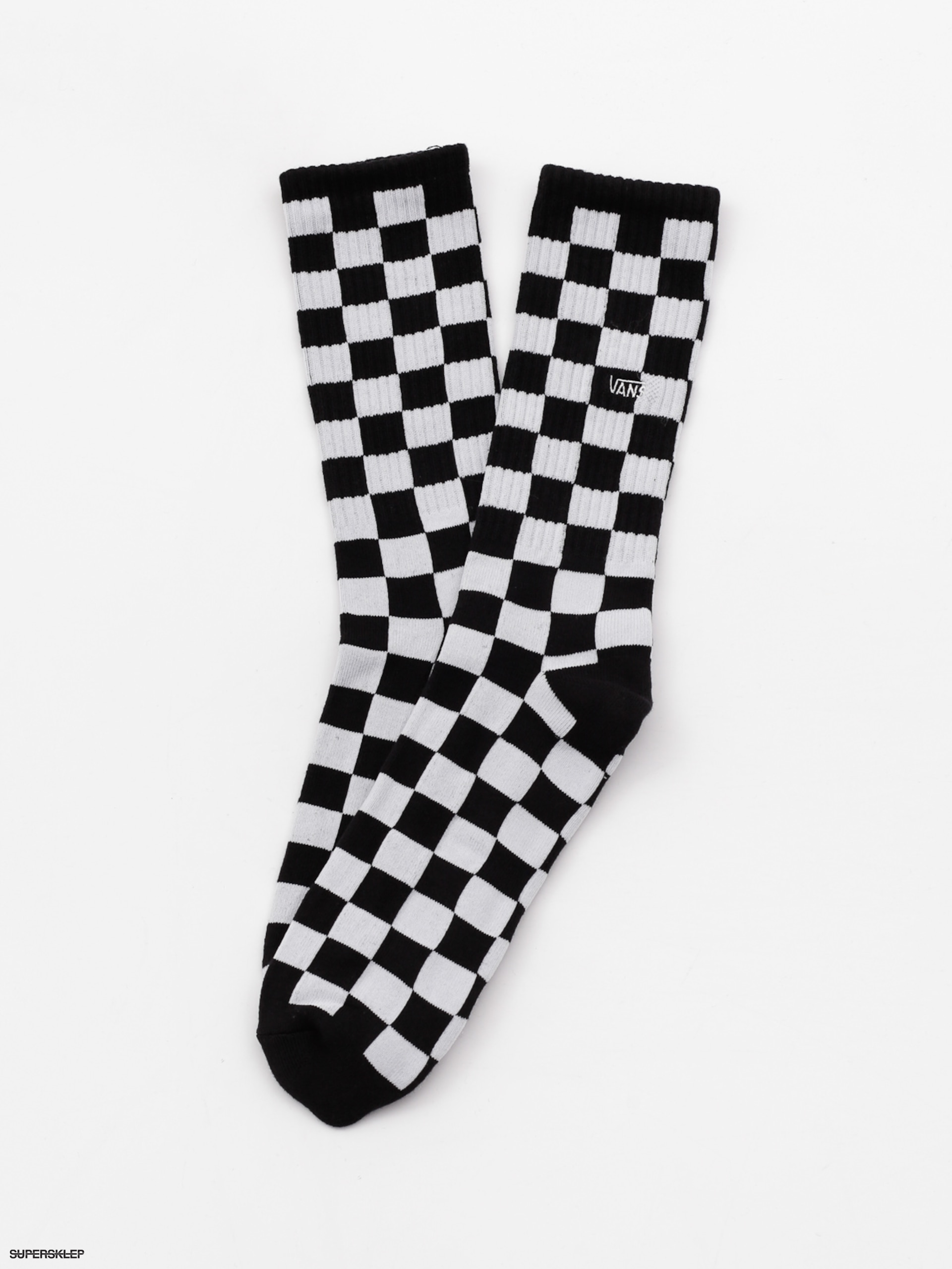 Skarpetki Vans Checkerboard Crew (blackwhite check)
