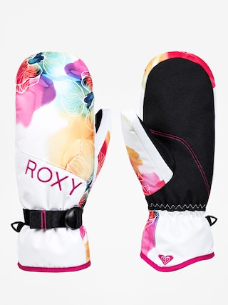 Ru0119kawice Roxy Jetty Mitt Wmn (sunshine flowers)
